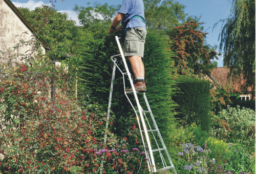 A Henchman tripod ladder